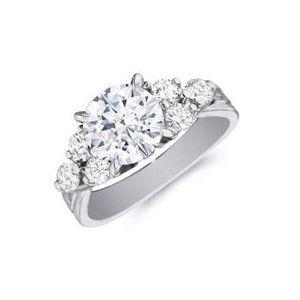 Jewelry - 2.60 ct Prong set brilliant cut diamonds anniversa